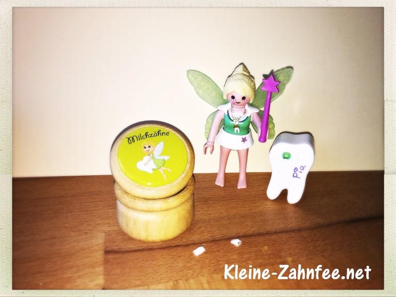 Playmobil Zahnfee mit Milchzahndose klein