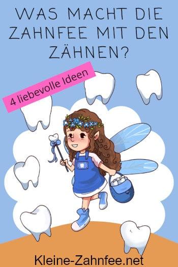 Was macht die Zahnfee mit den Zähnen?
